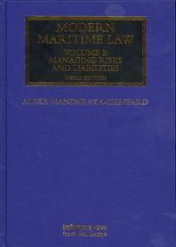 Modern Maritime Law, Volume 2