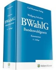 BWahlG - Kommentar