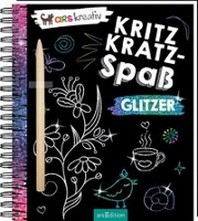 Kritzkratz-Spass Glitzer