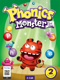 Phonics Monster. 2: Short Vowels(Student Book)(with Readers&App)