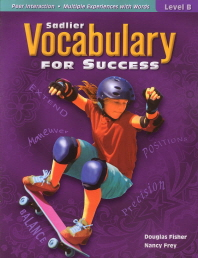 Sadlier Vocabulary for Success Level. B