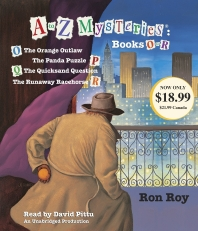 A To Z Mysteries: Books O-R (Audio CD)