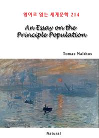 An Essay on the Principle Population (영어로 읽는 세계문학 214)