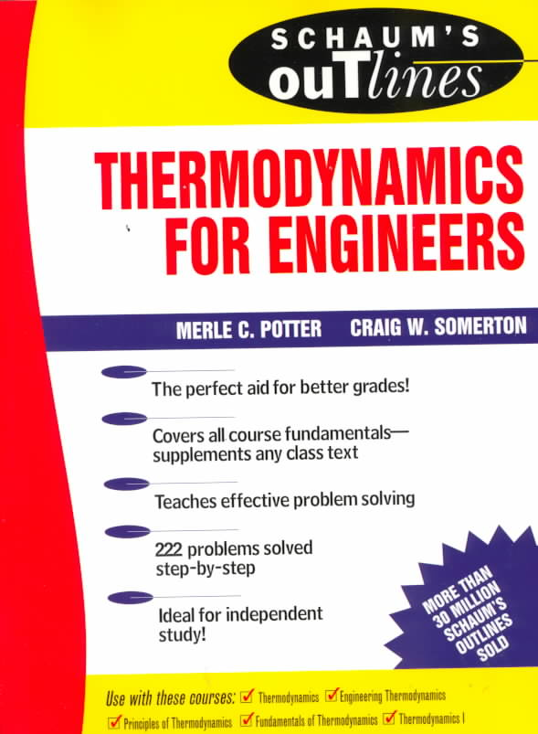 Schaum's Outline of Theory and Problems of Engineering Thermodynamics