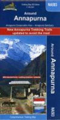 Around Annapurna 1 : 125 000