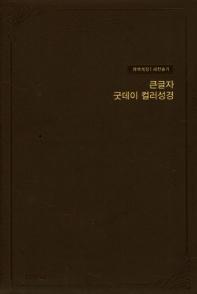 개역개정 큰글자 굿데이 컬러 성경 새찬송가(대합본/색인/지퍼/우피/버건디)