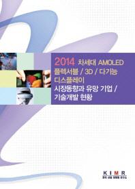 차세대 AMOLED/플렉서블/3D/다기능 디스플레이 시장동향과 유망 기업/기술개발 현황(2014)