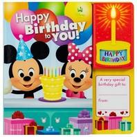 Happy Birthday Book Disney Baby