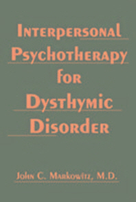 Interpersonal Psychotherapy for Dysthymic Disorder