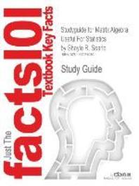 Studyguide for Matrix Algebra Useful for Statistics by Searle, Shayle R., ISBN 9780470009611
