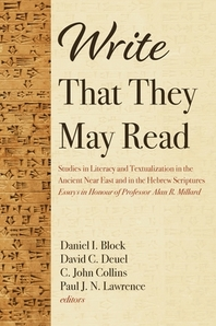 Write That They May Read