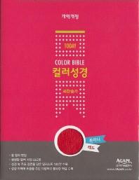 개정21C 투데이컬러성경 특미니합색인(레드)