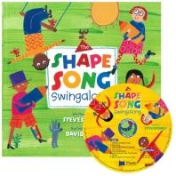 노부영 송 애니메이션 The Shape Song Swingalong (원서 & CD)