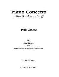 Piano Concerto (After Rachmaninoff)