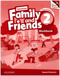 American Family and Friends. 2(Workbook)(with Online Practice)