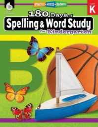 180 Days of Spelling and Word Study for Kindergarten