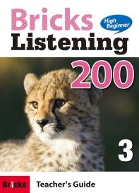 Bricks Listening High Beginner 200. 3(Teacher's Guide)