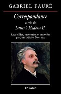 Correspondance De Gabriel Faure