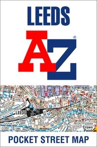 Leeds A-Z Pocket Street Map