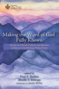 Making the Word of God Fully Known