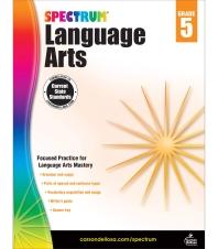 Spectrum Language Arts Grade. 5