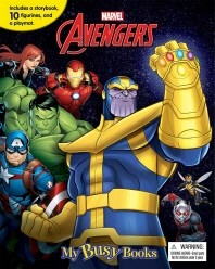 Marvel Avengers Infinity War 리뉴얼 마블 어벤져스 인피니티 워 비지북 피규어책