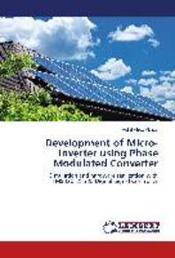 Development of Micro-Inverter using Phase Modulated Converter