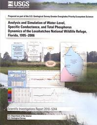 Analysis and Simulation of Water-Level, Specific Conductance, and Total Phosphorus Dynamics of the Loxahatchee National Wildlife Refuge, Florida, 1995