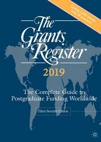The Grants Register 2019