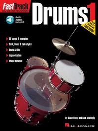 Fasttrack Drums Method - Book 1 [With CD]