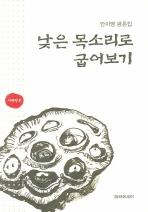 안미영 평론집 낮은 목소리로 굽어보기
