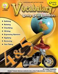 Vocabulary, Grades 4 - 5