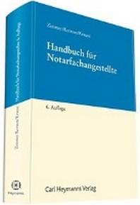 Handbuch fuer Notarfachangestellte