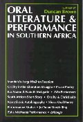 Oral Literature & Performance