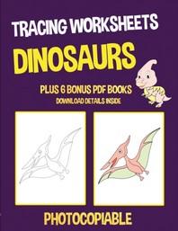 Tracing Worksheets (Dinosaurs)