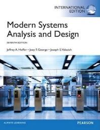 Modern Systems Analysis & Design