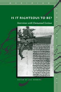 Is It Righteous to Be?