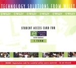 Student Access Card for E Grade Plus with EduGen