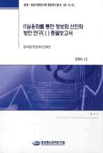 IT실용화를 통한 정보화 선진화 방안 연구(1) 총괄보고서