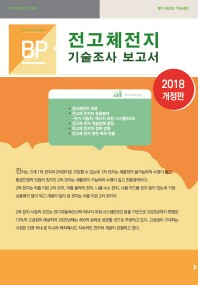 BP 전고체전지 기술조사 보고서(2018)