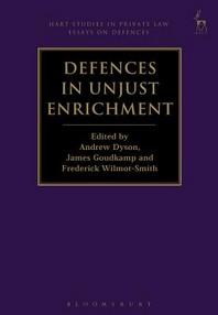 Defences in Unjust Enrichment