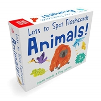 Lots to Spot Flashcards: Wild Animals!