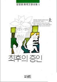 최후의 증인(상권)(김성종추리문학전집 1)