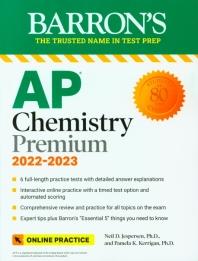 Barron's AP Chemistry Premium, 2022-2023