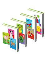 [애플비] 첫 퍼즐 시리즈 세트(과일 채소/동물/탈것/모양)