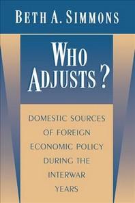 Who Adjusts?
