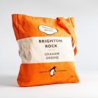[펭귄] 토트백 Brighton Rock (orange)