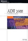 ADT 2000(AUTOCAD ARCHITECTURAL DESKTOP 2000)(S/W포함)