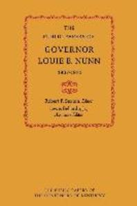 The Public Papers of Governor Louie B. Nunn