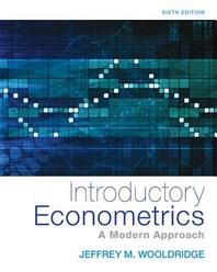 Introductory Econometrics